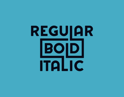 Regular Bold Italic - Font Collection 2014