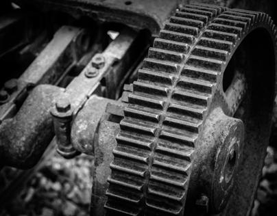 Rusty Coal Mining Equipment