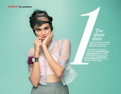 FEMINA   Fashion by Numbers