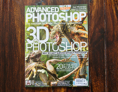 MAGAZINE FEATURES • ADVANCED PHOTOSHOP & MORE