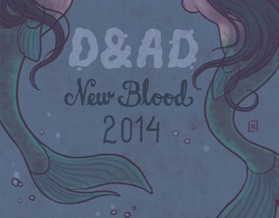 D&AD New Blood Invite
