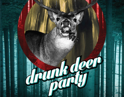drunk deer party