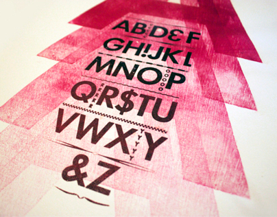Letterpress & Wood Type Series