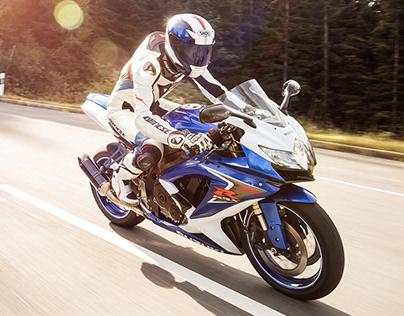 Suzuki GSX-R | Motorcycle Portfolio