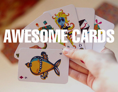 Collective project | 36 playing cards
