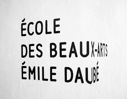 École des beaux-arts Émile Daubé