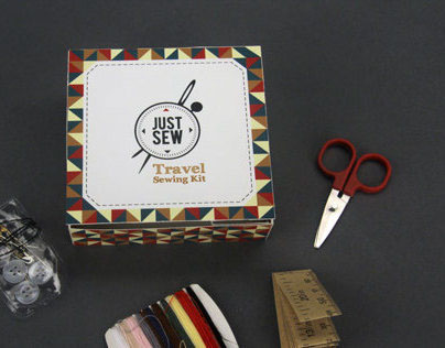 Travel Sewing Kit Packaging