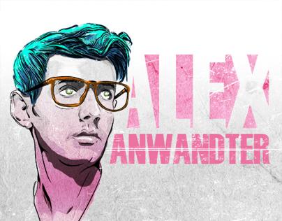 Edición Retrato Alex Anwandter