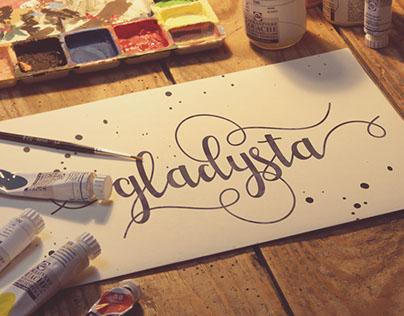 Gladysta Script (Free Demo)