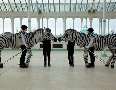 HI Zebra! Walkabout with VIP Puppets