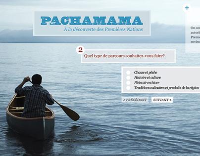 Pachamama MicroSite