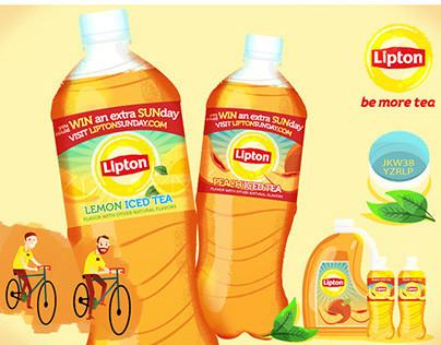 :::Lipton Sunday illustrations:::