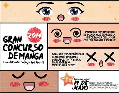 Poster Concurso de Manga