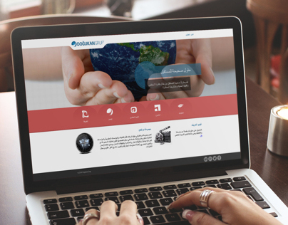 Dogukan Group Responsive Web Site UI Design and Coding