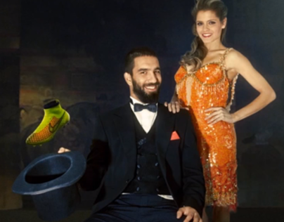 NIKE FOOTBALL / Arda Turan, The turkish Magician.