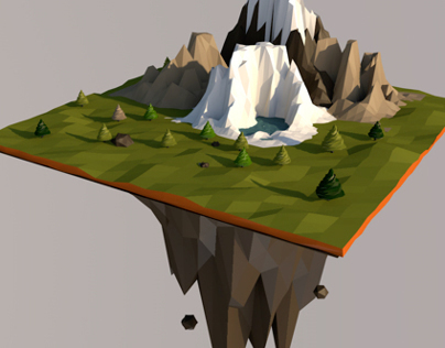 Lowpoly Montain