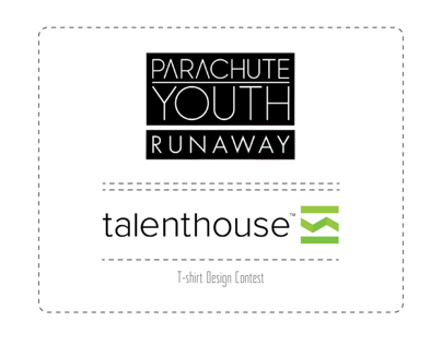 """PARACHUTE YOUTH - Runaway"" T-shirt Design Contest"