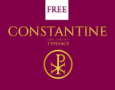 CONSTANTINE Typeface