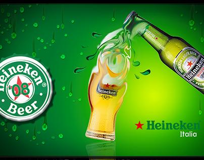 Heineken | Key Visual and Merchandising