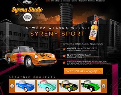 Syrena Sport for Wódka Żołądkowa Gorzka