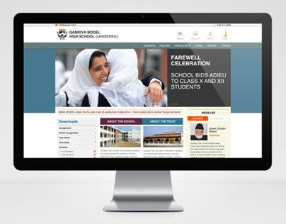 High School Website