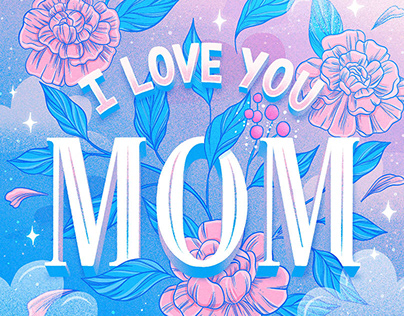 Mother's Day Lettering