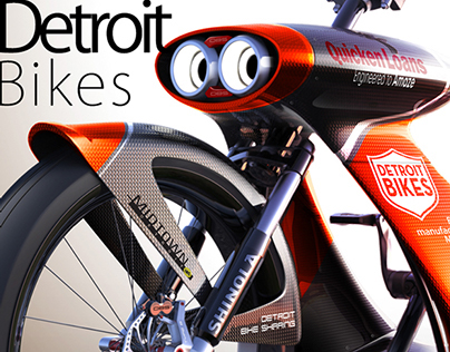 Detroit Shared Bike Design