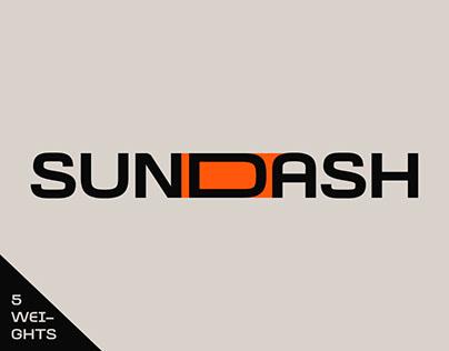 Sundash - Modern Versatile typeface