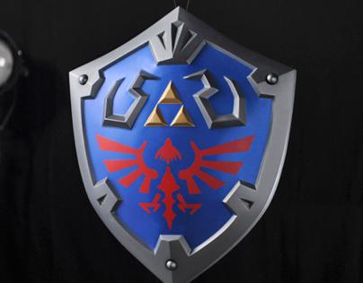 Nintendo Sword & Shield Props