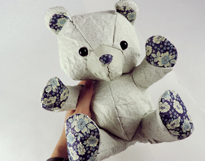Crumple: Paper Teddy Bears