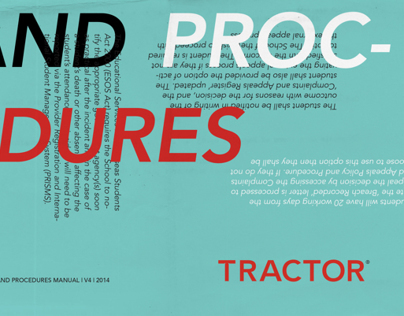 Tractor Policy & Procedures Manual