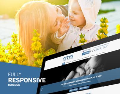 Responsive Website - OMNI Ultrasound & Gynaecological