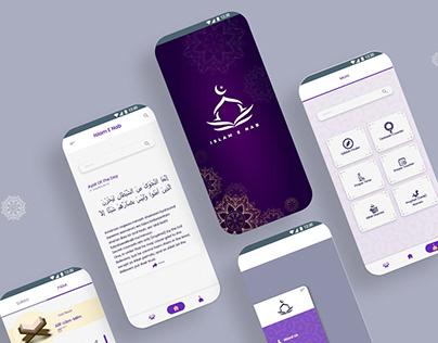 Islam E Nab UI Design
