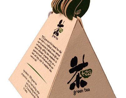 Sustainable Packaging Design : 茶 (Tea)