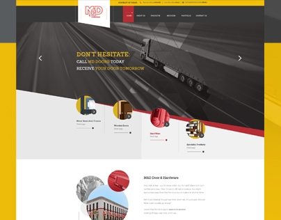 MD Door Hardware-Creative Web Design