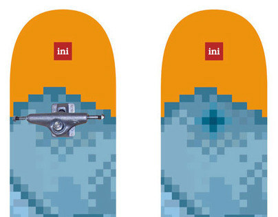 Skateboard design for INI