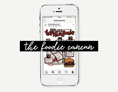 The Foodie Cancún - Instagram content