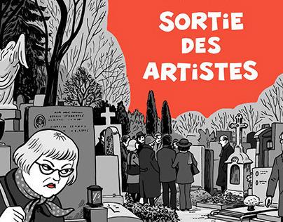 Sortie des artistes - Na odstřel
