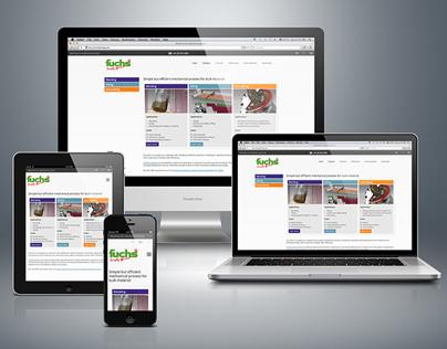 Fuchs AG Responsive Webdesign