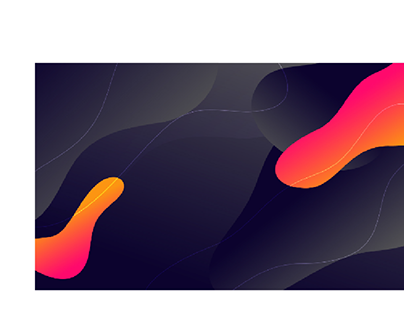 Dynamic modern fluid style background