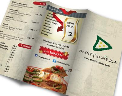 Pizza Menu 2014 - The City's Pizza