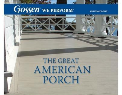 Gossen T&G Porch Print Ad