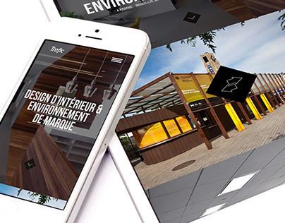 Trafic Design Website