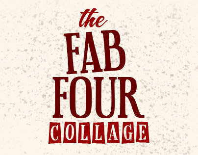 The Fab Four Collage