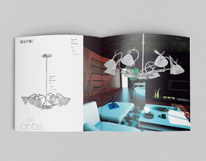 Catálogo de iluminación · Editorial Design