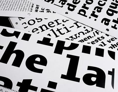 CR Griphen Typeface