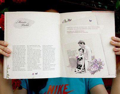 Love in Color : editorial design