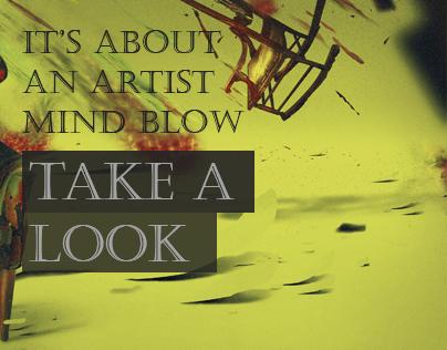 An artist mind blow