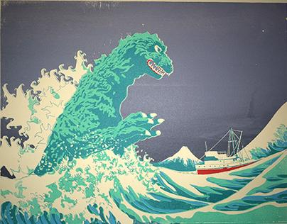Godzilla Off Kanagawa