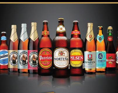 AMBEV - Cervejas do Mundo